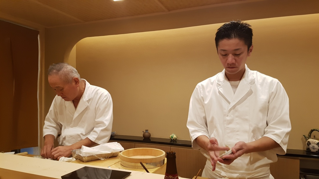 Tokiwa sushi yokohama japon