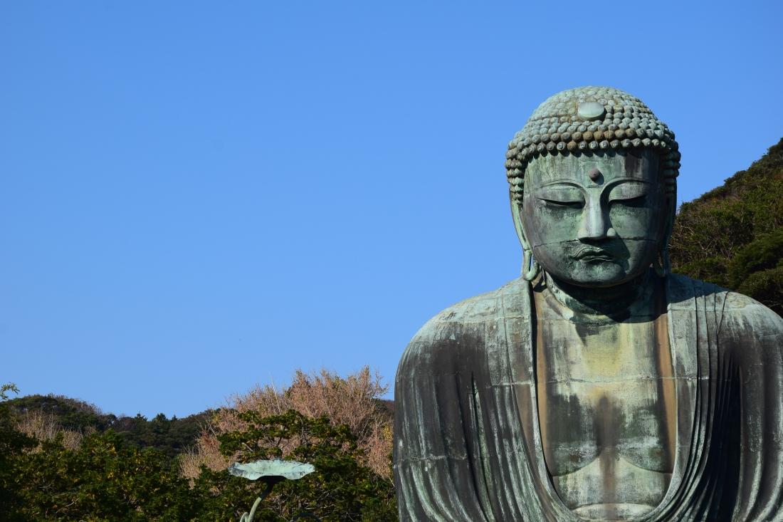 Buddha temple kamakura japon