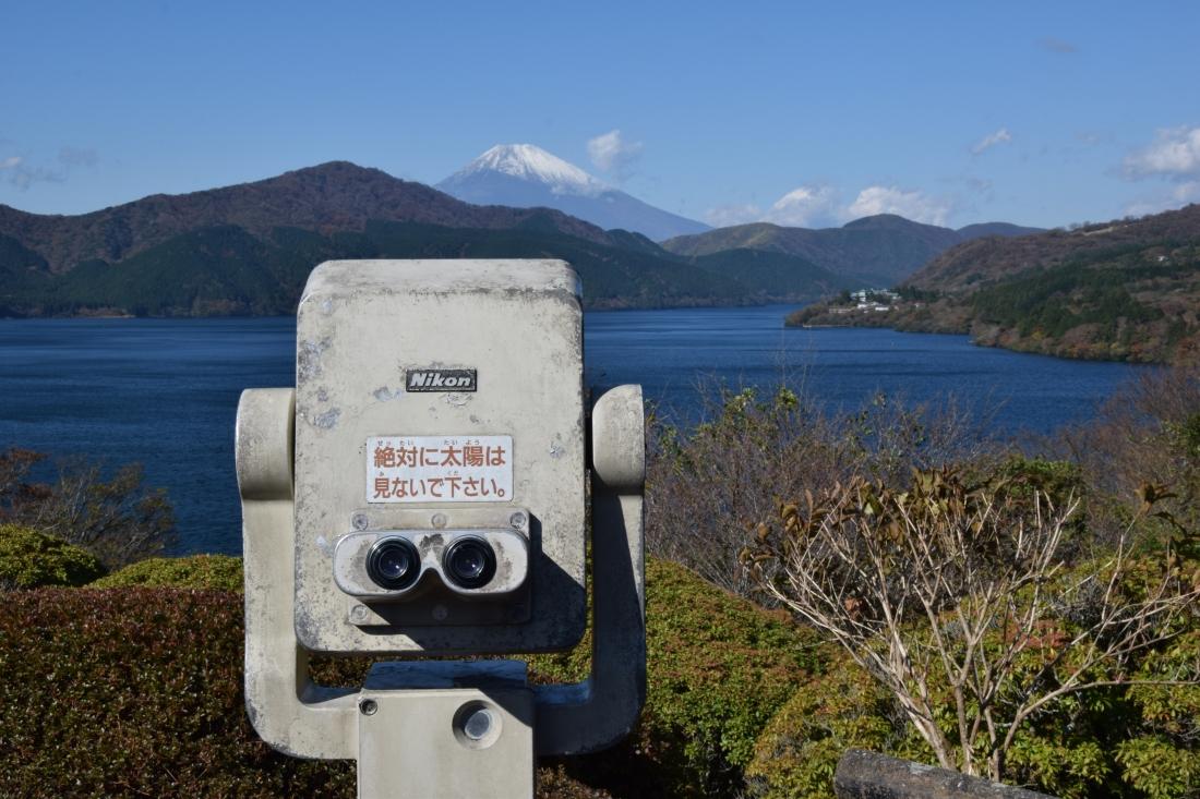 Vue Mont Fuji Nikon Japon