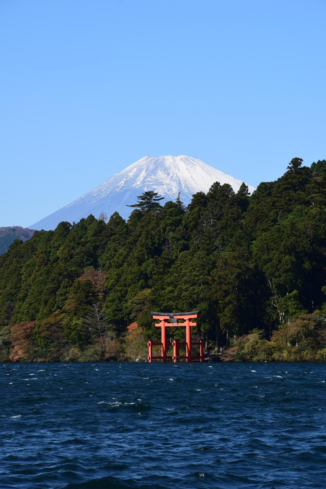 Vue lac Mont Fuji