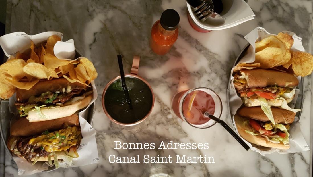 bonnes adresses Paris 10 Canal Saint Martin